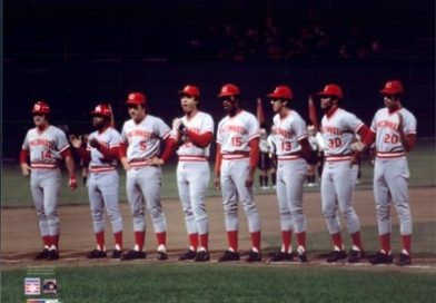 Big Red Machine 16×20 Lineup Photo