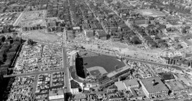 Crosley Field Aerial – B&W